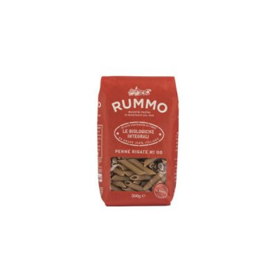 Rummo Organic Wholewheat Penne Rigate 500g