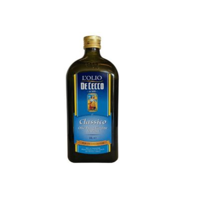De Cecco Extra Virgin Olive Oil Classico 1L Glass Bottle