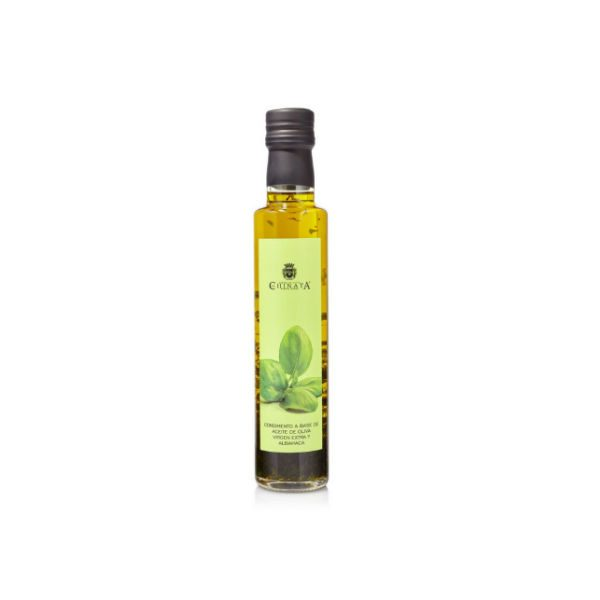 La Chinata Basil Infused Extra Virgin Olive Oil 250ml Glass Bottle