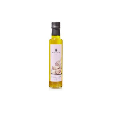 La Chinata Garlic Infused Extra Virgin Olive Oil 250ml Glass Bottle