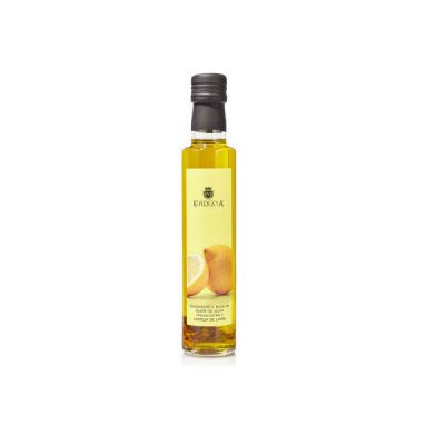 La Chinata Lemon Infused Extra Virgin Olive Oil 250ml Glass Bottle