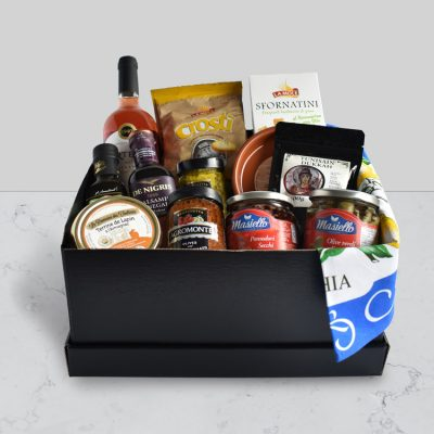 The Mediterranean Food co Christchurch Aperitivo gift hamper