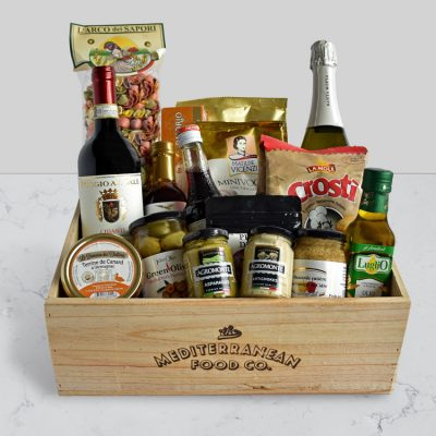 The Mediterranean Food co Christchurch Entertainer gift hamper