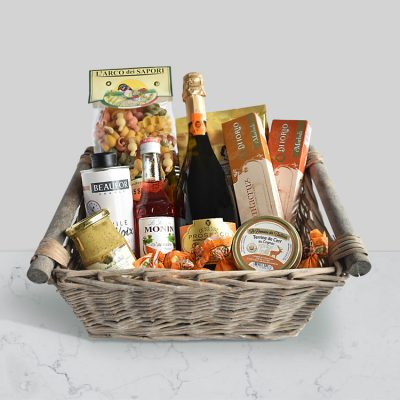 The Mediterranean Food co Christchurch Grazie Mille gift hamper