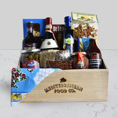 The Mediterranean Food co Christchurch Italian Essentials gift hamper