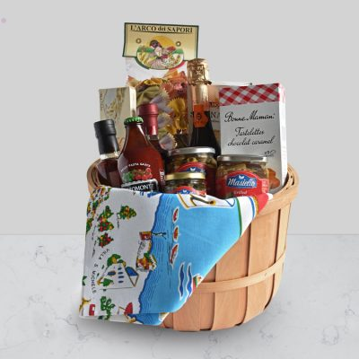 The Mediterranean Food co Christchurch Italian night in gift hamper