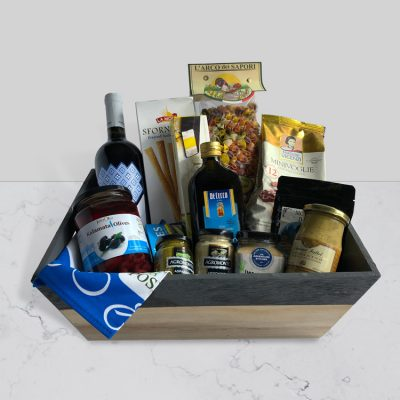 The Mediterranean Food co Christchurch Mediterranean diet gift hamper